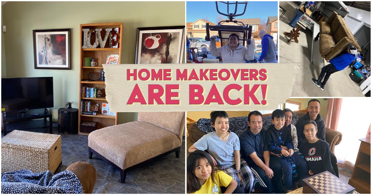 Meet our next Home Makeover Family!